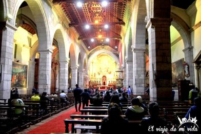 Interior de la Catedral de Quito